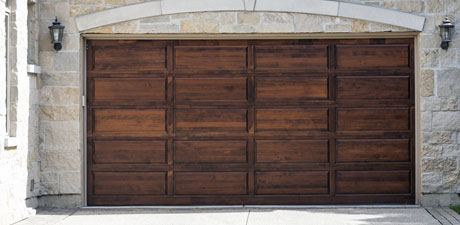 Wooden Garage door, La Puente